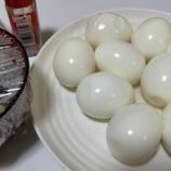 『【今日の夕飯】さばの水煮缶 その16 @ゆでたまご リミテストのプロテインやたんぱく質のことなど』の画像