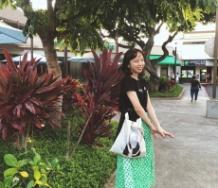 『勝田里奈「ハワイにきています」』の画像
