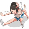 柔軟体操(模索56)