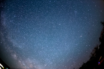 大台ヶ原で天体観測シーズンイン【2014】