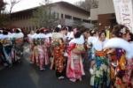 交野市でも『成人式』が開催されていました!~新成人は、800人だったそうです~