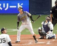 レギュラー争い必死の阪神・大山、オープン戦首位打者で終える 11試合 .378 3本 6打点