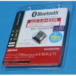『古いMac OS X 10.6.8で使うために、iBUFFALO Bluetooth USBアダプター 3.0+EDR対応 BSHSBD04BKを買った。』の画像