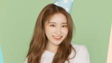 IZ*ONE公式SNS 2ヶ月ぶりの更新 イ・チェヨンの誕生日をお祝い