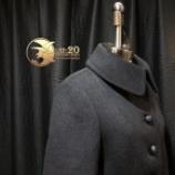 『店頭1点物 サイドギャザープリーツコートが完成。』の画像