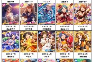 【グリマス】2017年8月18日時点、全アイドル最新18コスト以上カードまとめ