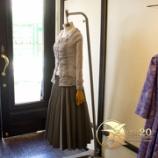 『店頭新作 プリーツロングスカート完成。』の画像