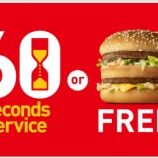 『マクドナルドの60秒チャレンジに挑戦』の画像