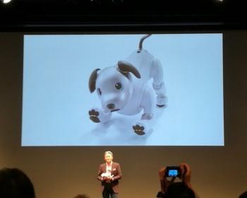 SONYが発表した新型AIBOの画像、値段、スペックがこちら