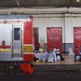 『駅でワクチン!205系も登板!!通勤客にその場で接種@ボゴール(6月17日)』の画像