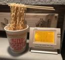 マイナス22度の北海道でカップラーメンを放置した結果がこちら