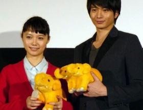 宮崎あおい1日だけ動物になるとしたら「鳥がいいです。飛びたいです」…映画「きいろいゾウ」舞台あいさつ