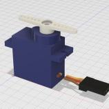 『フリー3D素材 サーボモータSG90』の画像