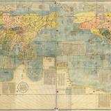 【画像】1602年に描かれた世界地図をご覧くださいwwwwwww
