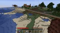 南大陸にL字型の木造民家を建てる