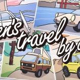『gen's travel by car キャンバス・ジグレー maniacsで販売受付!』の画像
