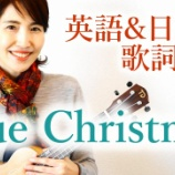 『ウクレレ弾き語り「ブルークリスマス」』の画像