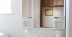 わが家の洗面所に増えたもの。セリアのコレにもぴったりでした! & ポチレポ