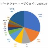 『バフェット氏、消費財株とエネルギー株に強気』の画像