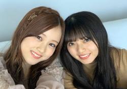 """""""あしゅみな""""こと齋藤飛鳥×星野みなみのこの髪型可愛すぎるだろwww"""