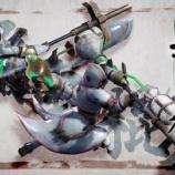 『【MHRise】操虫棍とガンランスのアクションもちょくちょく変わってるな…。』の画像