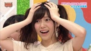 AKB48島崎遥香さん、ツインテールでイベントに参加した24歳女性ファンに「それはヤバイです 結構、痛いですよ」