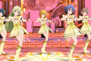 【ミリシタ】『衣装購入』に「パステル・トリコロール(ANGEL STARS)」が追加!&明日15時から『THEATER SHOW TIME☆』!