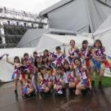 HKT48尾崎支配人がイナズマロックフェスの写真を公開、客席の様子も…