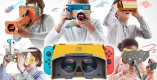 Switchでお手軽VR『Nintendo Labo: VR Kit』が4月12日発売決定!