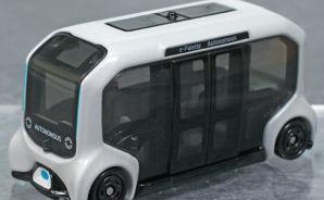 自動運転EVバスのミニカー
