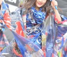 『YOSAKOIを踊る稲場愛香 の圧倒的美少女感!!!!!!!』の画像