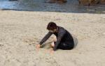 カープ佐々岡監督らが砂浜で練習!岡田は1人で砂の山を作るwwww