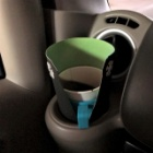 『エブリィワゴンのカップホルダーカバーの件』の画像