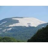『新緑の月山。夏山リフトへ掛け替えも終わり今日から営業です。』の画像