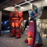 『稲城長沼駅にガンダム出現!』の画像