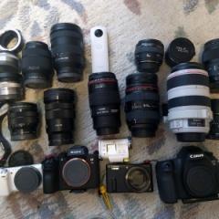 カメラ機材の整理