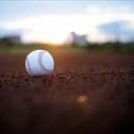 【GIF画像】田中マー、頭部に打球直撃…