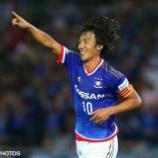 『横浜M 中村俊輔、磐田移籍を視野に交渉!』の画像