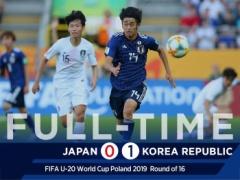 【 動画 】U20W杯・日韓戦・・・エリア内で韓国DFの手に当たってもハンドにならず、VARもなく・・・
