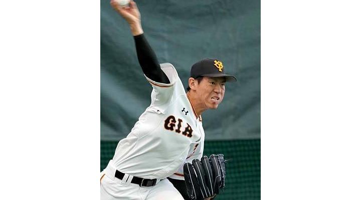 【 画像あり 】投球動作中の巨人・桜井の顔 wwwww