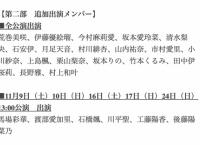 博多座 AKB48グループ特別公演、チケットが売れなさすぎて出演メンバー24人追加www