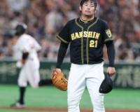 【阪神】岩田 まさかの乱調で3回9失点KO。