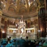 『ハンガリー旅行記15 天に召される音楽、聖イシュトヴァーン大聖堂のオルガンコンサート』の画像