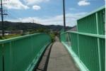 交野っぽい!この時期っぽい!天野が原歩道橋に描かれた絵が素敵な感じになってる!