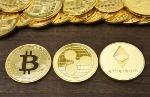 仮想通貨ビットコイン、年初来でプラスに イーサは15%超の急騰