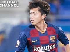 【 タッチ集 】安部裕葵(20)、バルセロナBでリーグ戦初ゴール!