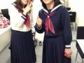 【画像】シルク姉さんと評論家の勝間和代氏がセーラー服姿公開www
