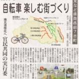 『自転車で楽しむ街づくりへの期待』の画像