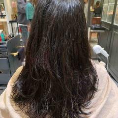 表参道 神宮前 東京 都内で美髪パーマが得意な美容室MINX原宿☆須永健次☆ロングに大人めナチュラルな春パーマをかけてみました。